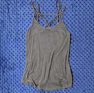 American Eagle Strappy Neck Tank